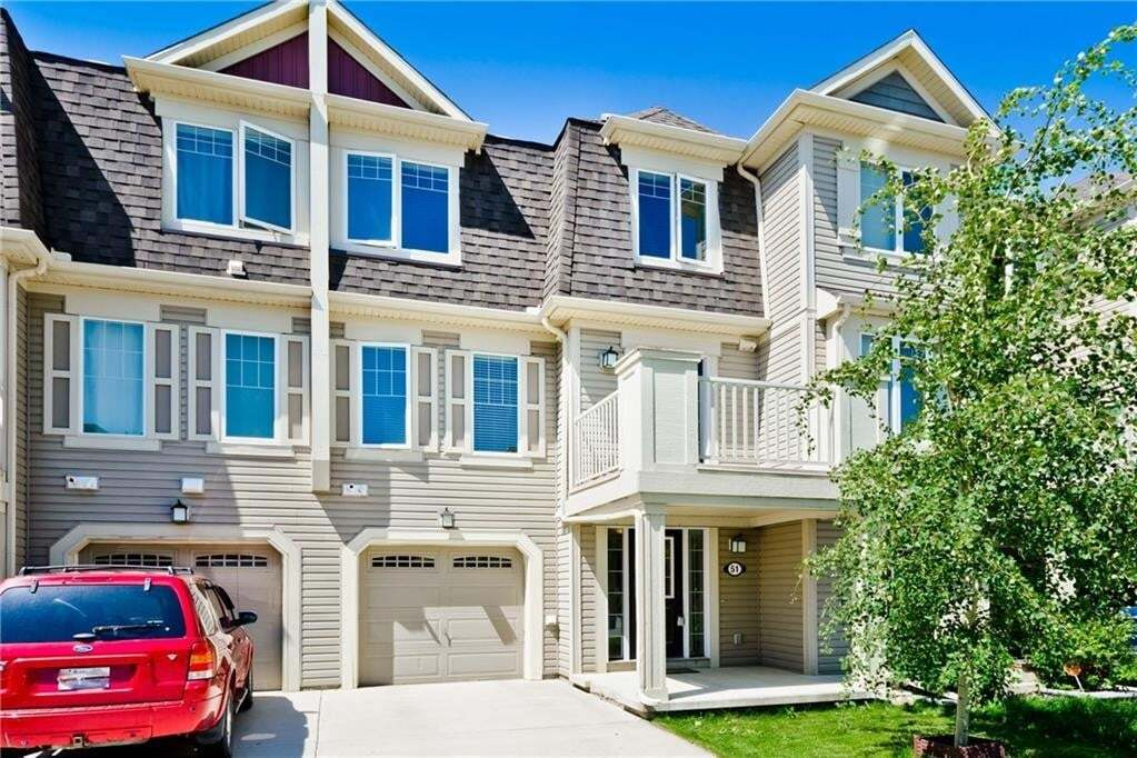 Townhouse for sale at 51 Windstone Gr SW Windsong, Airdrie Alberta - MLS: C4305728