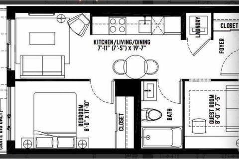 Apartment for rent at 120 Parliament St Unit 510 Toronto Ontario - MLS: C4669584