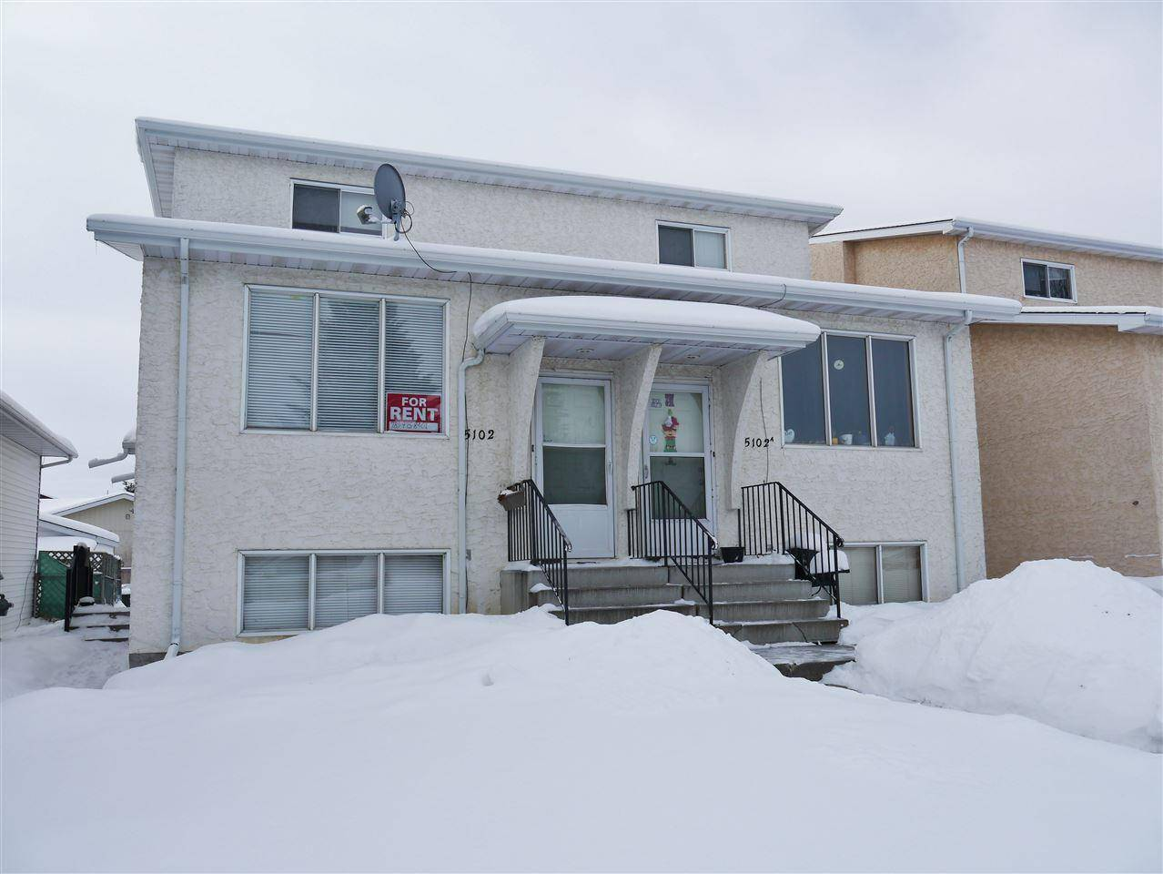 Townhouse for sale at 5102 57 Ave Stony Plain Alberta - MLS: E4194701