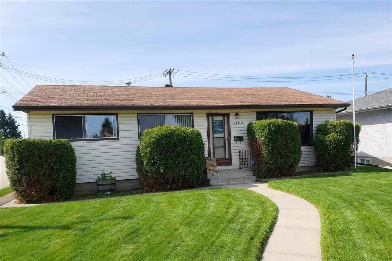 House for sale at 5103 103 Av NW Edmonton Alberta - MLS: E4205760