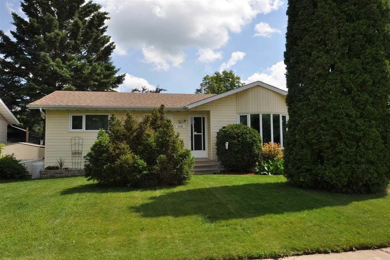 House for sale at 5103 49 St Bon Accord Alberta - MLS: E4205519