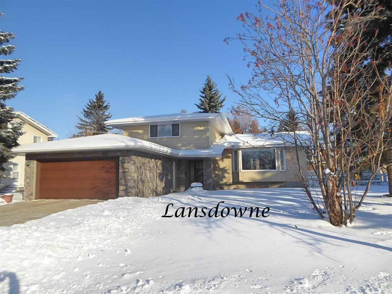 House for sale at 5103 Lansdowne Dr Nw Edmonton Alberta - MLS: E4184357