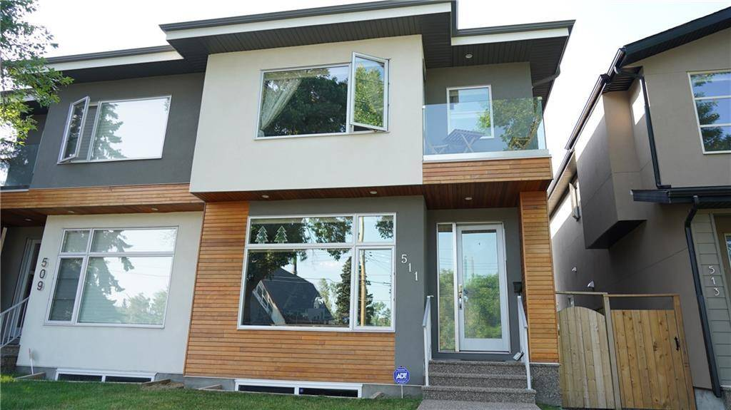 Townhouse for sale at 511 30 Ave Nw Mount Pleasant, Calgary Alberta - MLS: C4226136