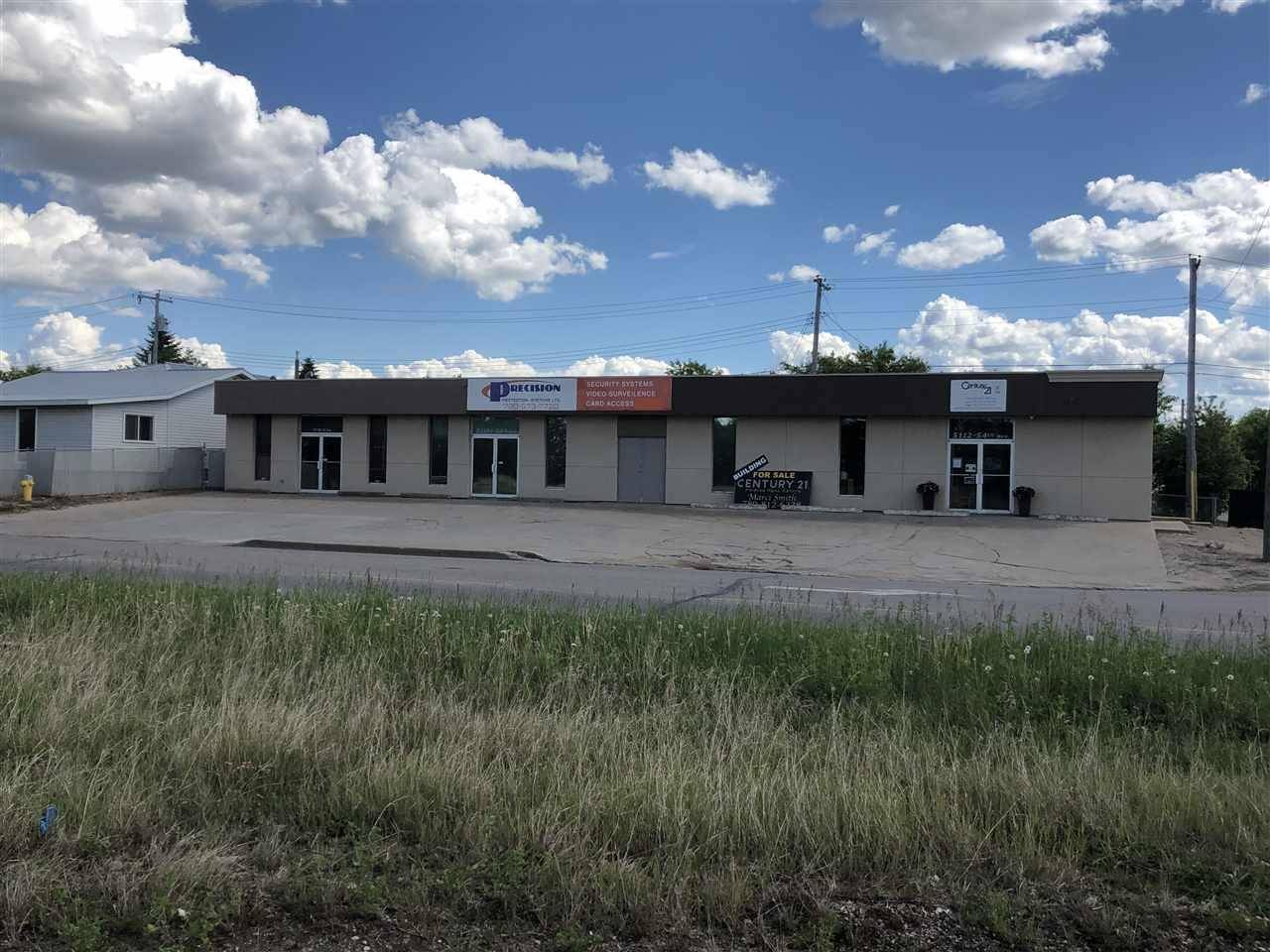 Commercial property for sale at 5110 54 Ave Bonnyville Town Alberta - MLS: E4161327