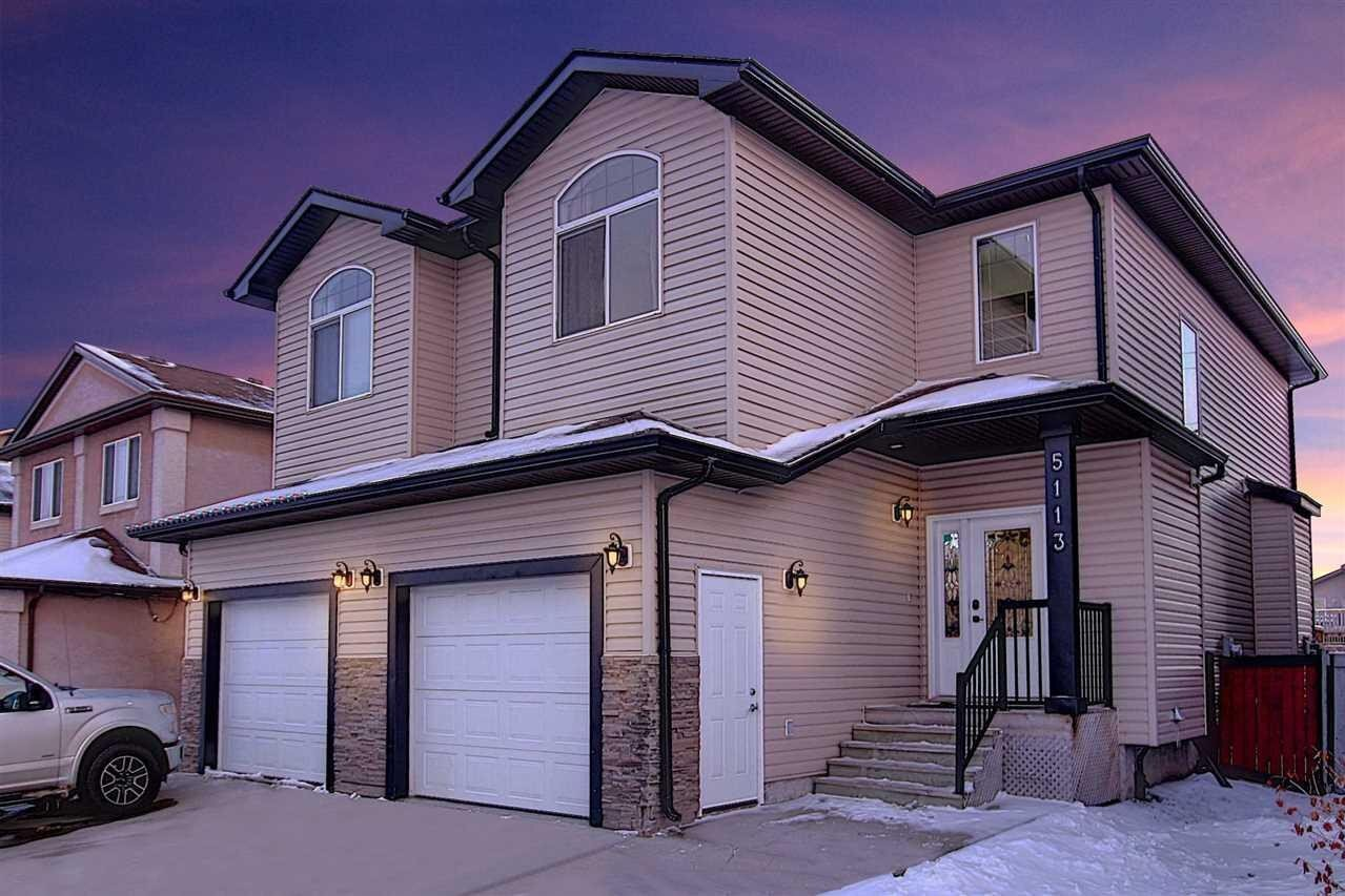 Townhouse for sale at 5113 164 Av NW Edmonton Alberta - MLS: E4221465