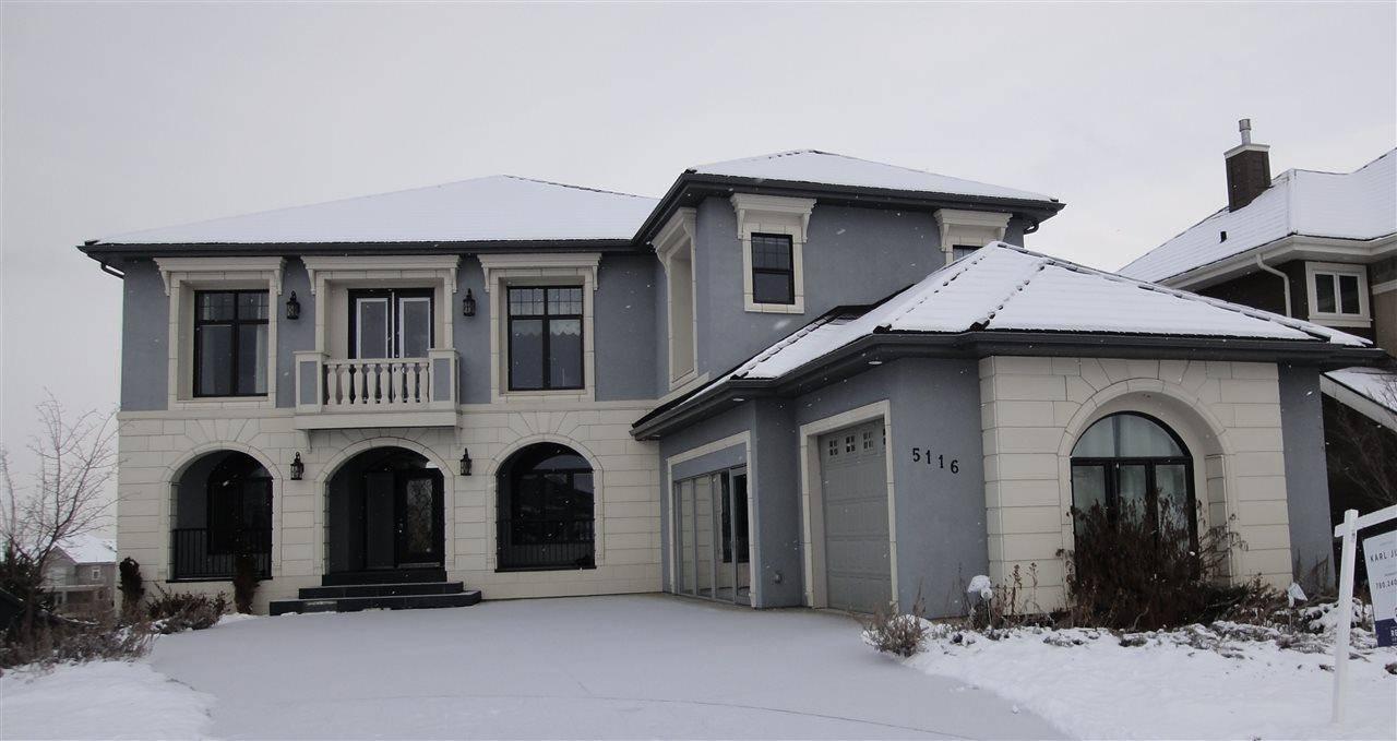 House for sale at 5116 Woolsey Li Nw Edmonton Alberta - MLS: E4181887