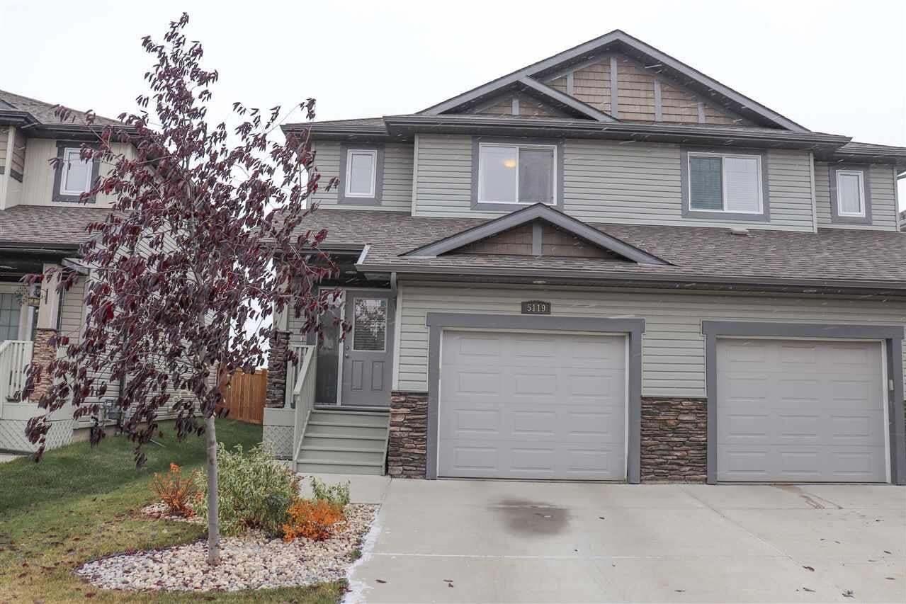 Townhouse for sale at 5119 168 Av NW Edmonton Alberta - MLS: E4218530