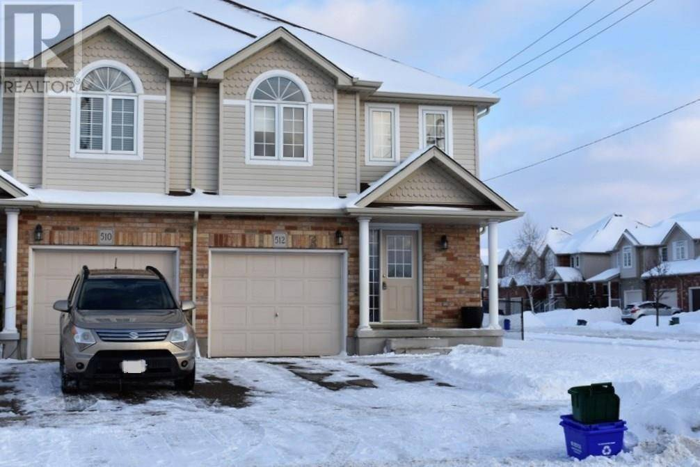Townhouse for sale at 512 Doon South Dr Kitchener Ontario - MLS: 30780688