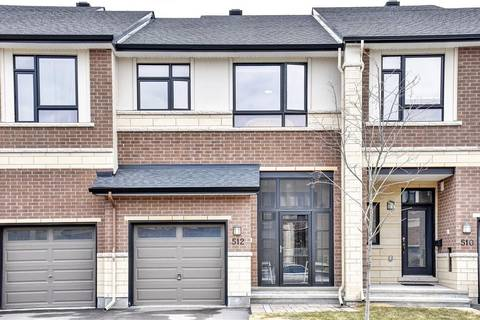 Townhouse for sale at 512 Earnscliffe Gr Ottawa Ontario - MLS: 1148246