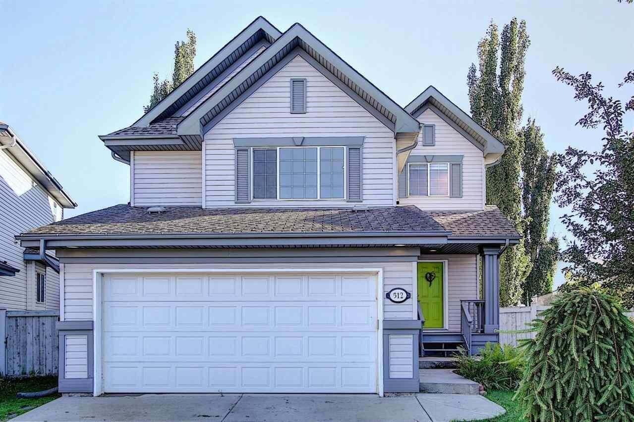 House for sale at 512 Glenwright Cr NW Edmonton Alberta - MLS: E4209546
