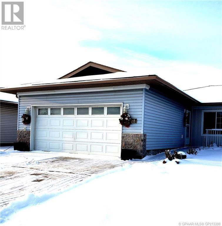 Townhouse for sale at 5123 46 Ave Unit 6 Grimshaw Alberta - MLS: GP213390