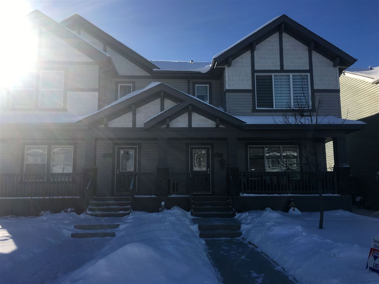For Sale: 5127 Godson Close, Edmonton, AB   3 Bed, 3 Bath Townhouse for $369,900. See 27 photos!