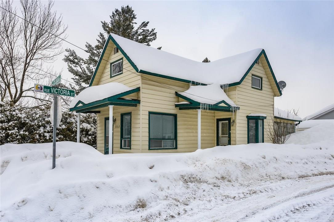 For Sale: 513 St Jean Street, Rockland, ON | 3 Bed, 2 Bath House for $189,900. See 21 photos!