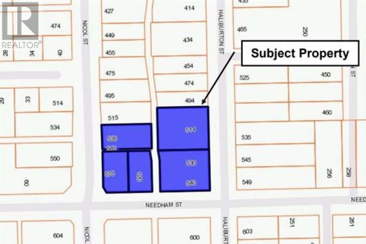 Residential property for sale at 514 & 540 Haliburton St Nanaimo British Columbia - MLS: 843092