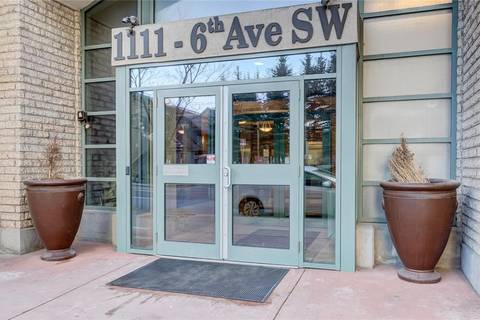 Condo for sale at 1111 6 Ave Sw Unit 514 Downtown West End, Calgary Alberta - MLS: C4217775