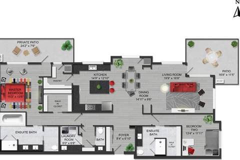 Condo for sale at 12 Mahogany Path Southeast Unit 514 Calgary Alberta - MLS: C4284857