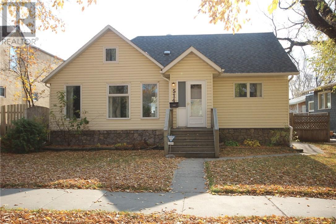 For Sale: 514 5th St E, Saskatoon, SK   4 Bed, 2 Bath House for $339,900. See 26 photos!