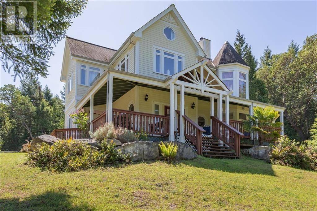 House for sale at 514 Felix Jack Rd Mayne Island British Columbia - MLS: 411214
