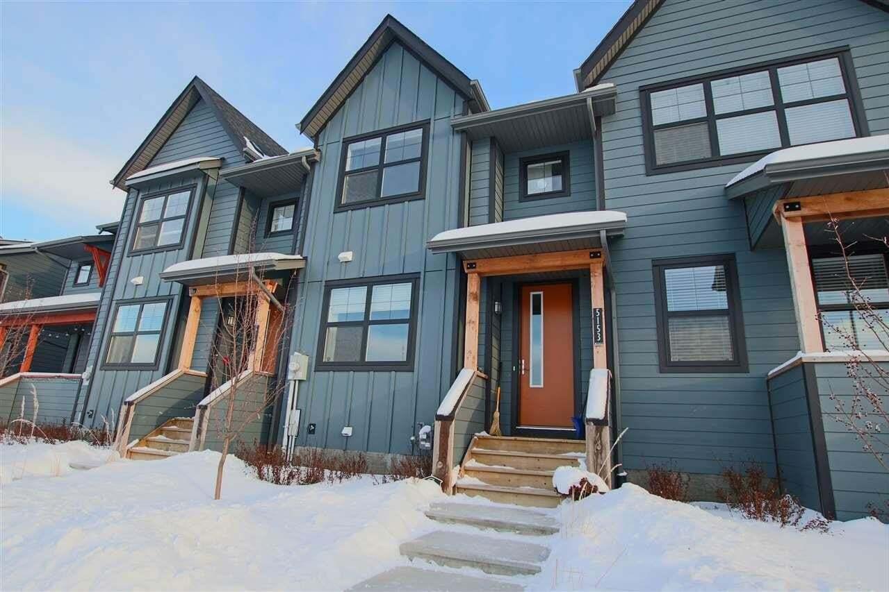 House for sale at 5153 Chappelle Rd SW Edmonton Alberta - MLS: E4185343