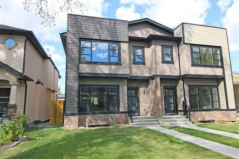 Townhouse for sale at 516 28 Ave Northwest Calgary Alberta - MLS: C4258347