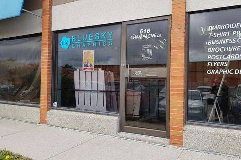 Commercial property for lease at 516 Champagne Dr Toronto Ontario - MLS: W4580549
