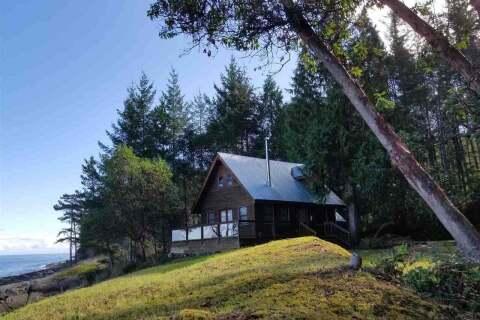 House for sale at 516 Sticks Allison Rd W Galiano Island British Columbia - MLS: R2510293