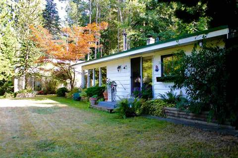 House for sale at 5167 Wesjac Rd Madeira Park British Columbia - MLS: R2345436