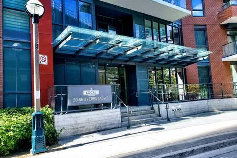 Apartment for rent at 50 Bruyeres Me Unit 517 Toronto Ontario - MLS: C4524908