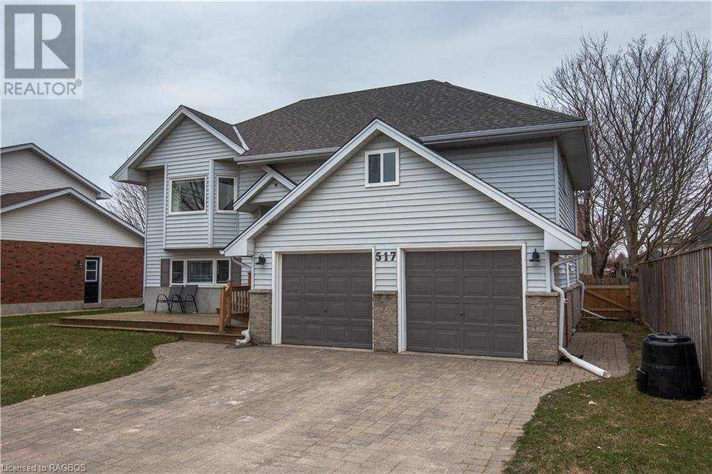 House for sale at 517 Bluewater Dr Saugeen Shores Ontario - MLS: 252544