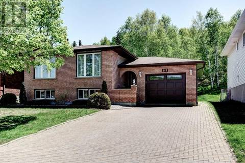 House for sale at 517 Stonegate Dr Sudbury Ontario - MLS: 2075845