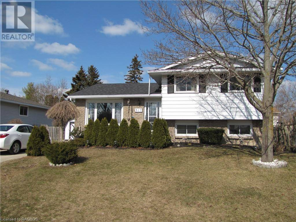 House for sale at 517 Wales Dr Port Elgin Ontario - MLS: 252257
