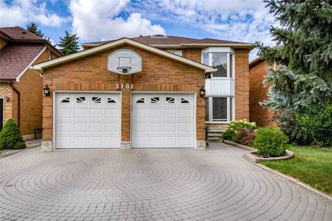 House for sale at 5181 Swiftcurrent Tr Mississauga Ontario - MLS: W4575167