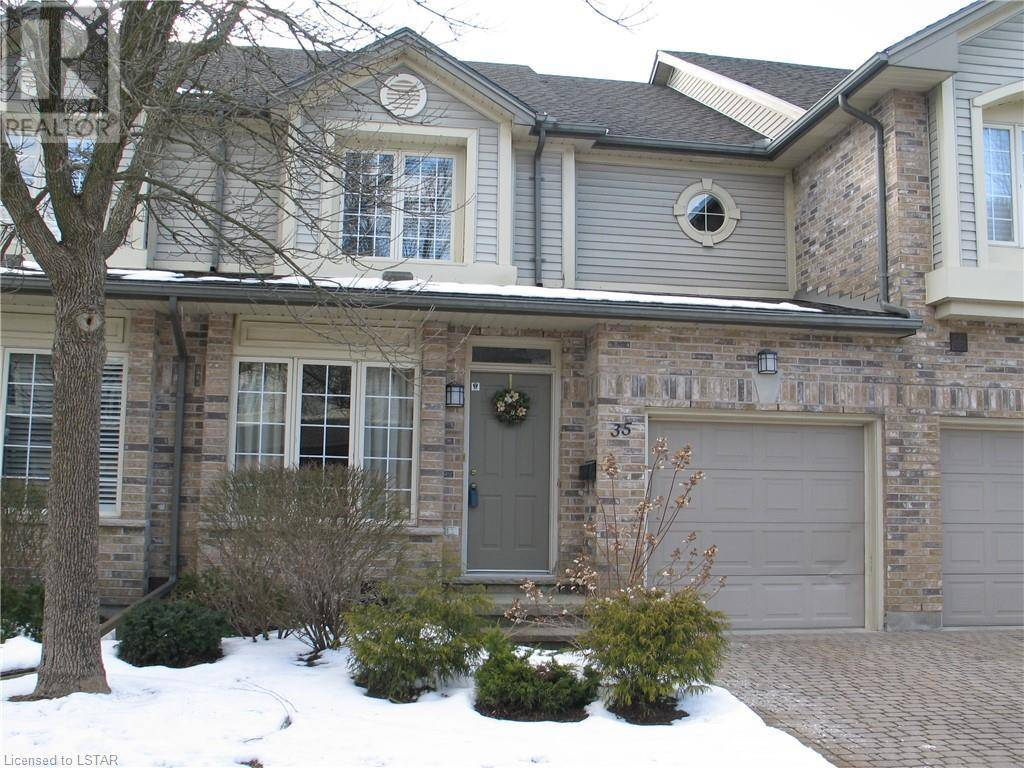 Townhouse for sale at 35 Riverside Dr Unit 519 London Ontario - MLS: 244585