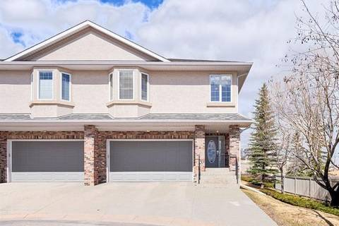 Townhouse for sale at 100 Signature Wy Southwest Unit 52 Calgary Alberta - MLS: C4243027