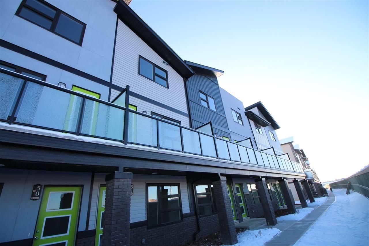 Townhouse for sale at 1203 163 St Sw Unit 52 Edmonton Alberta - MLS: E4177994