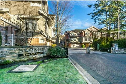 Townhouse for sale at 15151 34 Ave Unit 52 Surrey British Columbia - MLS: R2331952