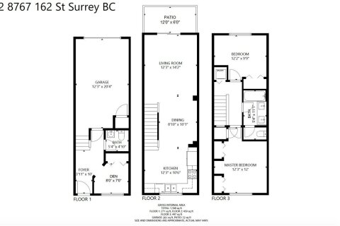 Townhouse for sale at 8767 162 St Unit 52 Surrey British Columbia - MLS: R2517577