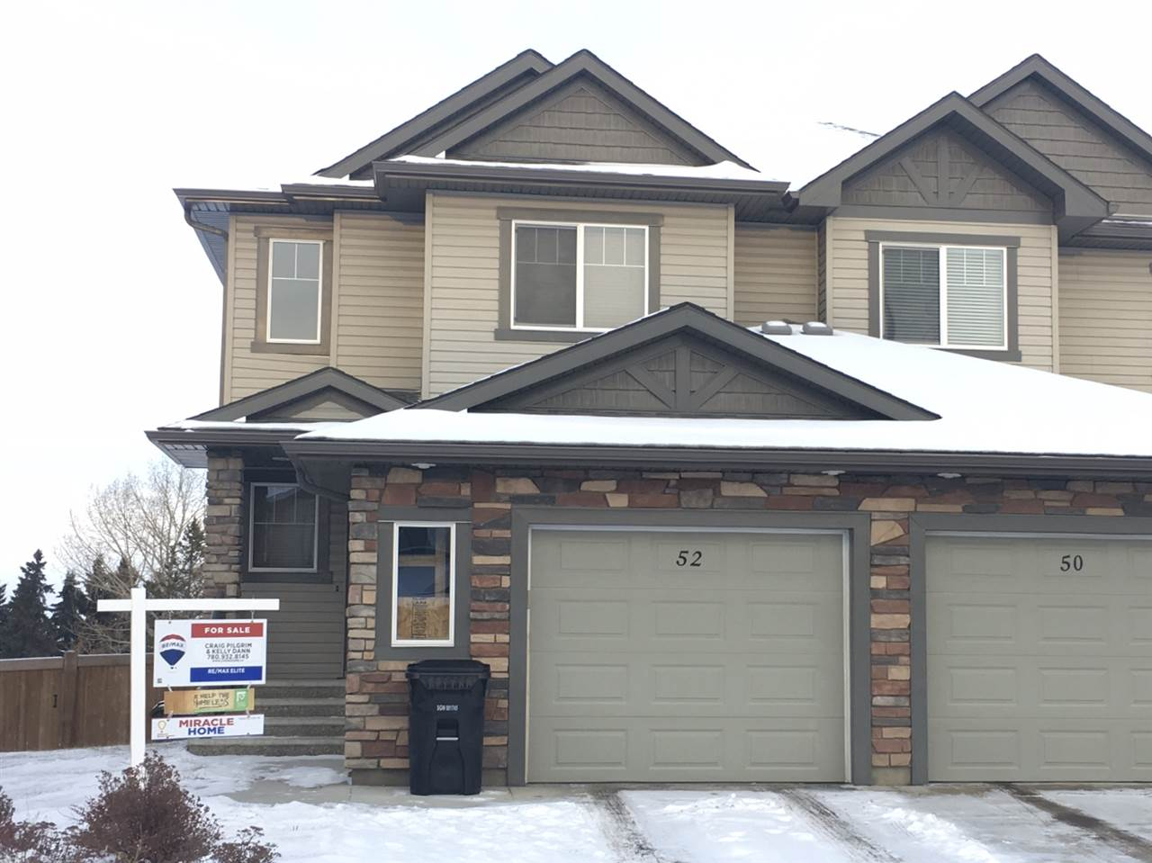 For Sale: 52 Austin Court, Spruce Grove, AB | 3 Bed, 4 Bath Townhouse for $344,900. See 29 photos!