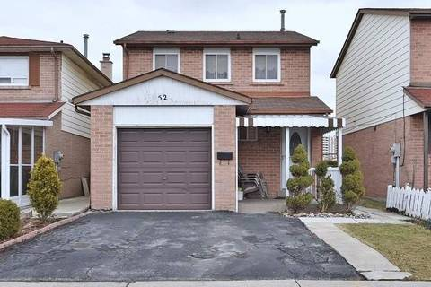 House for sale at 52 Cathy Jean Cres Toronto Ontario - MLS: W4723986