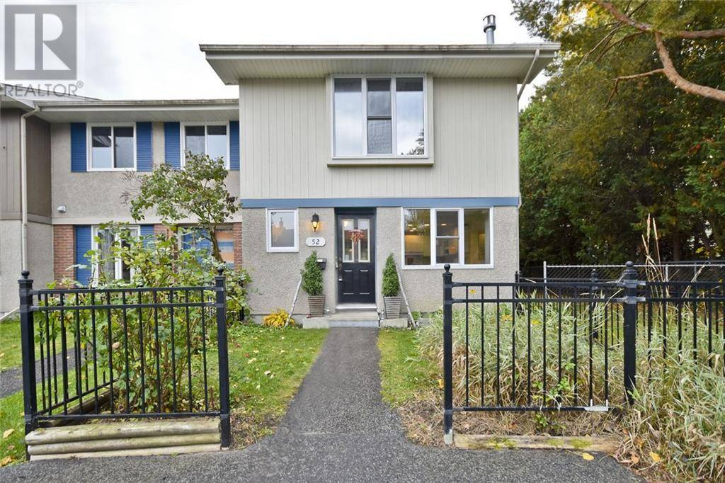 Townhouse for sale at 52 Costello Ave Ottawa Ontario - MLS: 1172705
