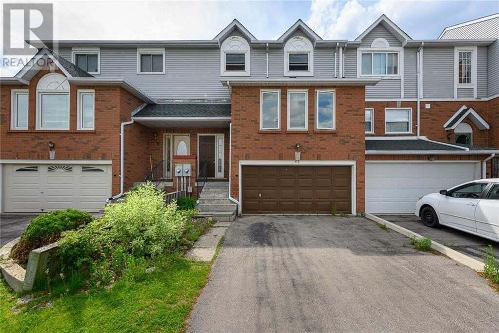 Townhouse for sale at 52 Fairgreen Cs Cambridge Ontario - MLS: 30810145