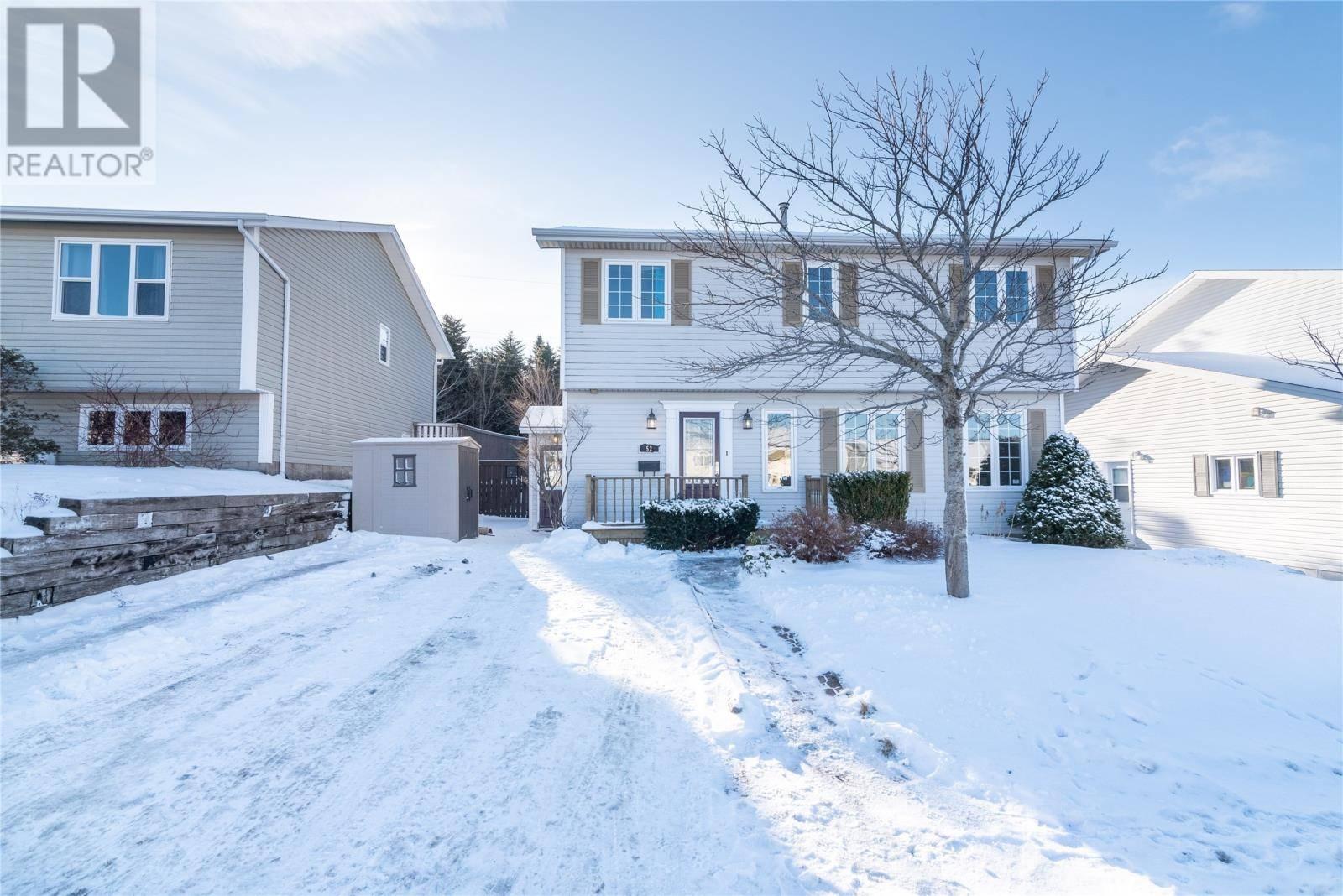 House for sale at 52 Harrington Dr St. John's Newfoundland - MLS: 1209148