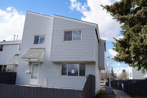 Townhouse for sale at 52 Mcleod Pl Nw Edmonton Alberta - MLS: E4154685