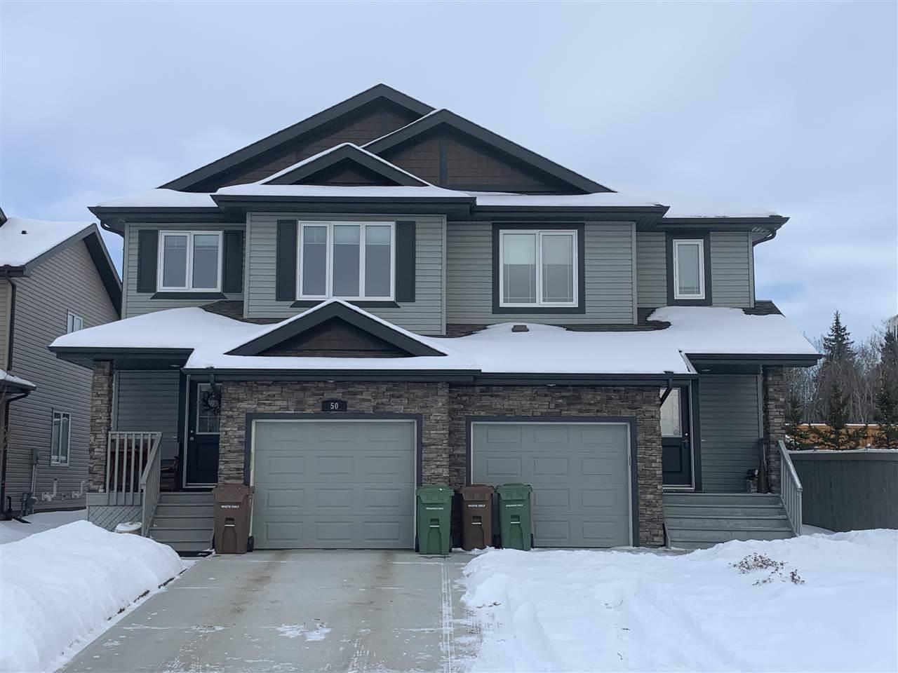 Townhouse for sale at 52 Royal St St. Albert Alberta - MLS: E4187453