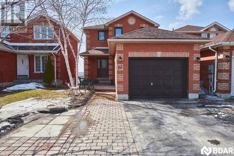 House for sale at 52 Sundew Dr Barrie Ontario - MLS: 30721243