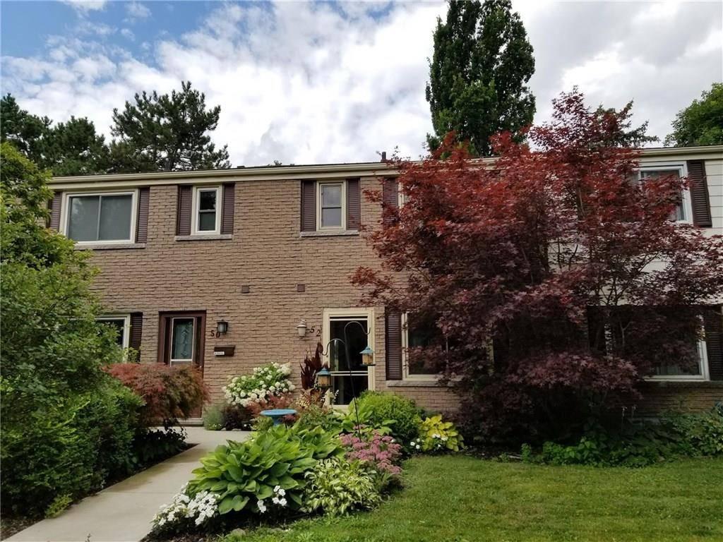 Townhouse for sale at 52 Tivoli Dr Hamilton Ontario - MLS: H4060717