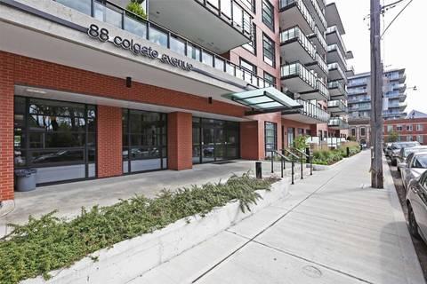 Condo for sale at 88 Colgate Ave Unit 520 Toronto Ontario - MLS: E4595937