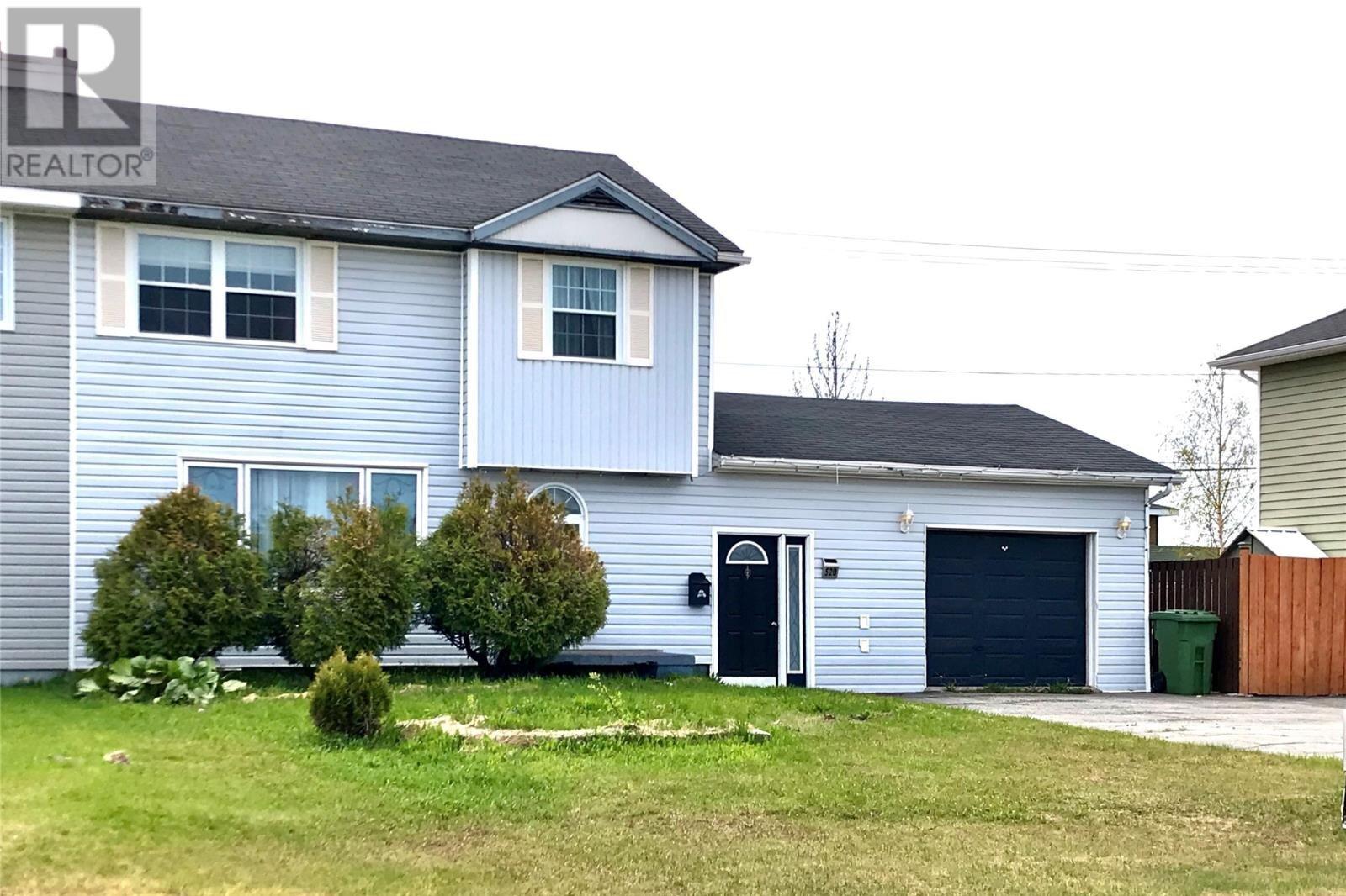 House for sale at 520 Bristol Cres Labrador City Newfoundland - MLS: 1213367