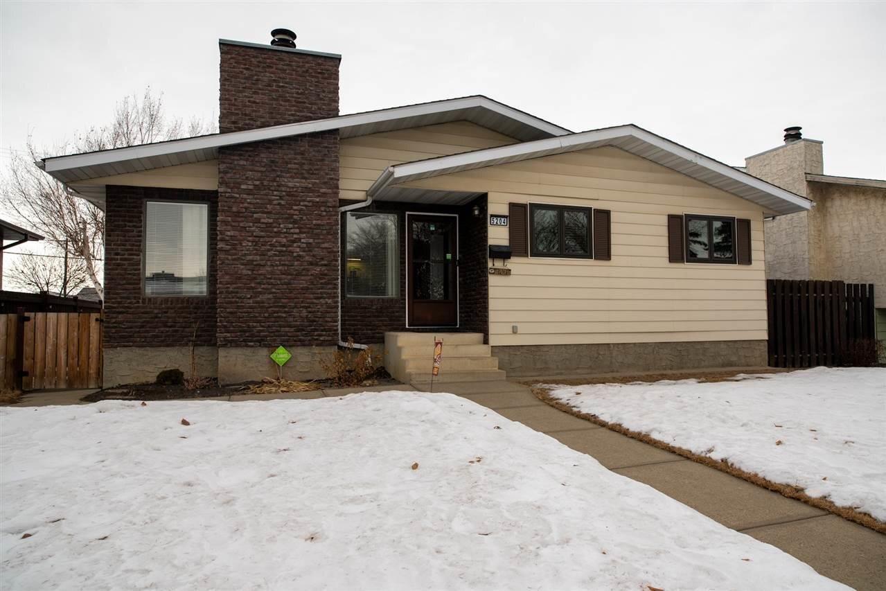 House for sale at 5204 123 Av NW Edmonton Alberta - MLS: E4225663