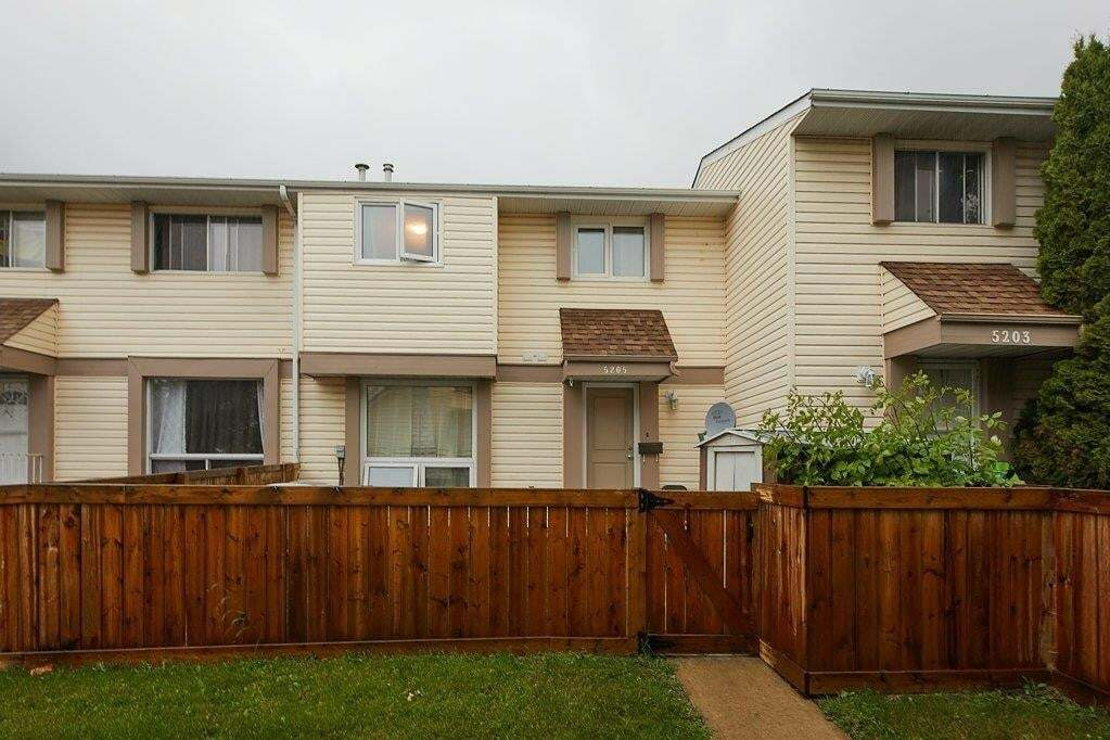 Townhouse for sale at 5205 Mcleod Rd NW Edmonton Alberta - MLS: E4206890